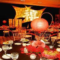 Chinese Lantern Centerpiece